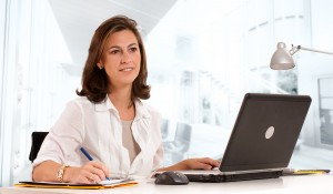 Working woman in a business environment